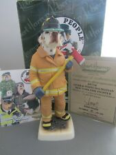 NEW YORK FIRE FIGHTER LIVER & WHITE  DALMATION DP234L ROBERT HARROP BOXED