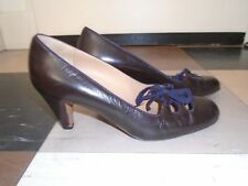 Marni brown leather shoes 5.5