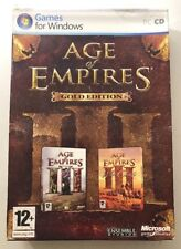 Age Of Empires III 3 Gold Edition - Includes War Chiefs - PC CD - Free UK P&P