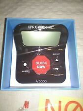 CPR V5000 Phone Call Blocker In Excellent Condition, UNTESTED