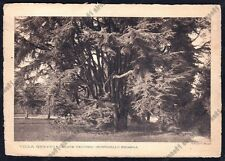 LECCO MONTICELLO BRIANZA 17 CASATEVECCHIO VILLA GREPPI Cartolina viaggiata 1935