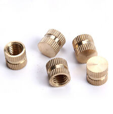 50pcs M2.5 blind brass nuts straight muffs embedded nut injection muff 3.8mm OD