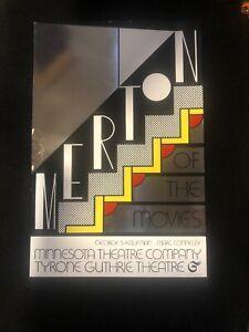 Roy Lichtenstein-Merton of The Movies-1968 Foil Print. FREE SHIPPING