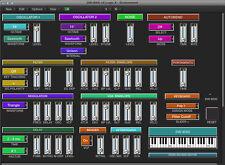VIRTUAL editor / programmer - KORG DW-8000 / EX-8000 - LOGIC v4 - X