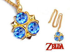 CIONDOLO THE LEGEND OF ZELDA NECKLACE LINK COSPLAY OCARINA SPIRITUAL STONE #3