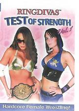 RINGDIVAS (DVD) Test of Strength Volume 1 - HC Women's Wrestling