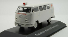 Volkswagen Kombi 1200 Ambulance Brazil Rare Diecast Scale 1:43 New With Stand