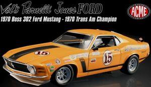 1970 Mustang ORANGE 1801815 1:18 Parnelli Jones