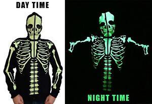 Banned Glow In Dark Skeleton Men's Hoodie