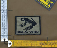 "Ricamata / Embroidered Patch ""Mal Ad Osteo"" Coyote Tan with VELCRO® brand hook"