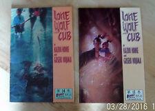 Lone Wolf and Cub by Kazuo Koike & Goseki Kojima # 13 & #14 Paperback 1988 MANGA