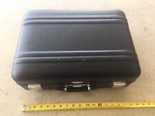 "Halliburton Zero Black Suitcase Briefcase Small Luggage Case 18""x13""x6"""