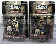 Heavy Metal FAKK2 Game Series 1 Tyler & Julie on Planet Ship Action Figures NIP