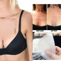 Silicone Anti Wrinkle Eliminate Chest Pads Reusable Overnight Improve Sleep NEW