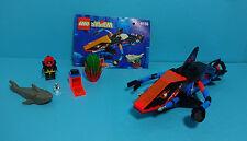 LEGO Aquazone, Aquasharks ~ Deep Sea Predator (6155) & Manual