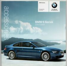 BMW 6-Series Coupe & Convertible Accessories 2007-08 UK Market Sales Brochure
