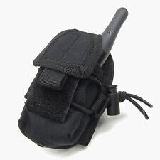 CONDOR MA56 MOLLE Belt Carabiner HHR Radio Pouch L/R Antenna BLACK
