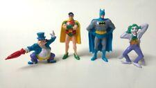 Batman PVC Figuren-Set, 4 Figuren, Applause 1989