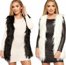 Shaggy Coats & Jackets without Fastening for Women
