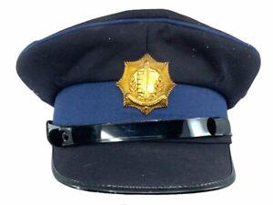 Israel Israeli Police Cap Hat Size 7 1/4