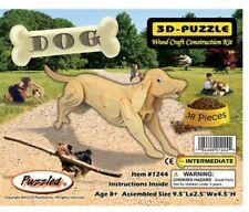 Holzbausatz Hund - 3D Puzzle