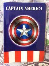 Marvel Capitán América pasaporte id de viaje de identidad cubrir titular Vacaciones Regalo de Reino Unido