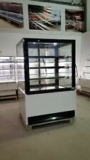 Cake Display Fridge 1.0m Widht LED Lights Black