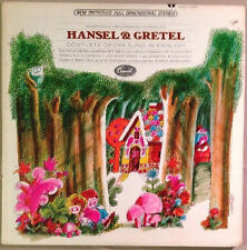 Hansel & Gretel Complete Opera In English,  EX 2-LP Record Set Mario Bernardi