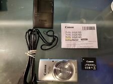 Canon Powershot ELPH 135 W/ Battery Charger, USB cable and Original Instructions