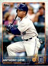 2015 Topps Series 2 Anthony Gose #413 Detroit Tigers