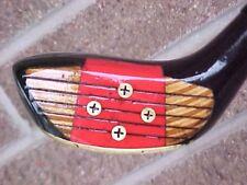 Toney Penna Refurbished RH Golf Club 5 Wood w Brass Sole Plate & Original Grip