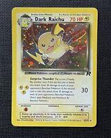 Pokemon Dark Raichu Holo Team Rocket #83/82 LP (P) English