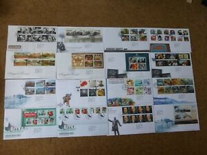 Excellent collection 2014 GB FDCs - all spec HS (16) - rf875