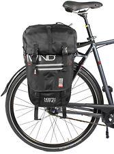 Northwind Packtaschenset für Gepäckträger 50 L Doppeltasche mit Rucksack *NEU*