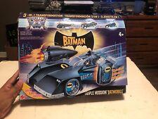 Batman Triple Mission Motorized Batmobile Shoots Missiles