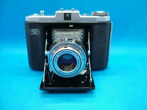Vintage Zeiss Ikon, Signal Nettar, (IIb), 6x6cm Roll Film Camera with Case.
