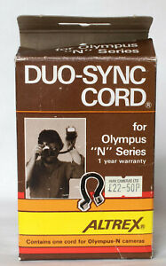 Altrex duo-sync dedicated flash extension lead for Olympus 'N' series inc. box.