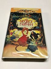 Vintage MGM The Secret Of Nimh VHS Tape Clam Shell
