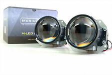 """Bi-LED Morimoto M LED MLED Low and High Beam 3"""" Inch Projector"""