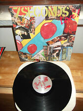 """SEVEN SECONDS """"Live! One Plus One"""" LP GIANT REC USA 1987"""