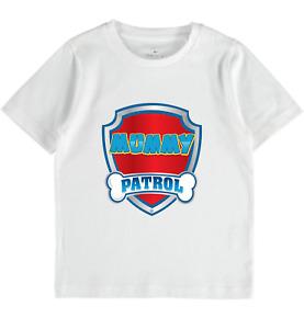 Paw Patrol family Personalised tshirt mum dad brother sister birthday boys girls