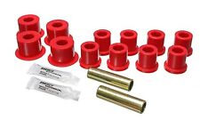 Energy Suspension 8.2103R Leaf Spring Bushing Set Fits 84-88 4 Toyota Pickup