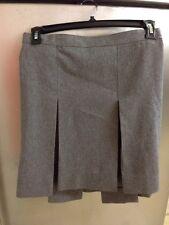 Becky Thatcher School Uniform Gray Skirt Size12 1/2T Waist 34 1/2 Teen