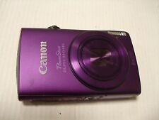 LikeNew Canon PowerShot 310HS 310 12MP Digital Camera IXUS 230 HS - Purple