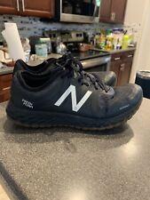 Men's New Balance Fresh Foam Kaymin V1 Black/Gum Sole Trail Running Shoes US 8