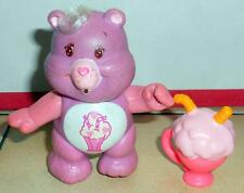 kenner CARE BEARS SHARE BEAR Poseable with shake Vintage 80's