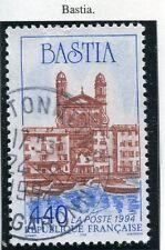 TIMBRE FRANCE OBLITERE N° 2893 BASTIA LE VIEUX PORT /
