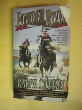 SIGNED by Author: Powder River by Ralph Cotton (1995, Paperback)