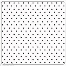 """Crafts Too 5"""" x 5"""" Embossing Folder DOTS CTFD3014"""
