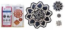 Spellbinders Shapeabilities Flower Rosettes Medallions Cut Fold Tuck 3Die S5-111
